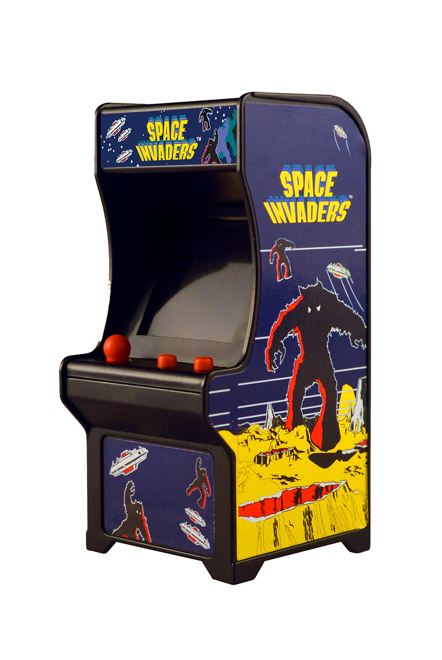 Tiny Arcade Space Invaders Miniature Arcade Game ...