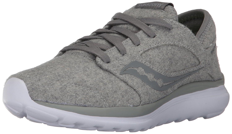 Saucony Women's Kineta Relay Wool Sneaker B01N0THTI2 9 B(M) US|Grey