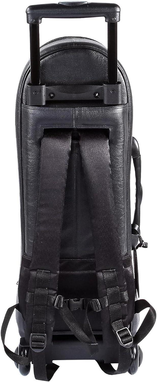 Gard Single Trumpet Wheelie Bag 1-WBFLK Black Ultra Leather