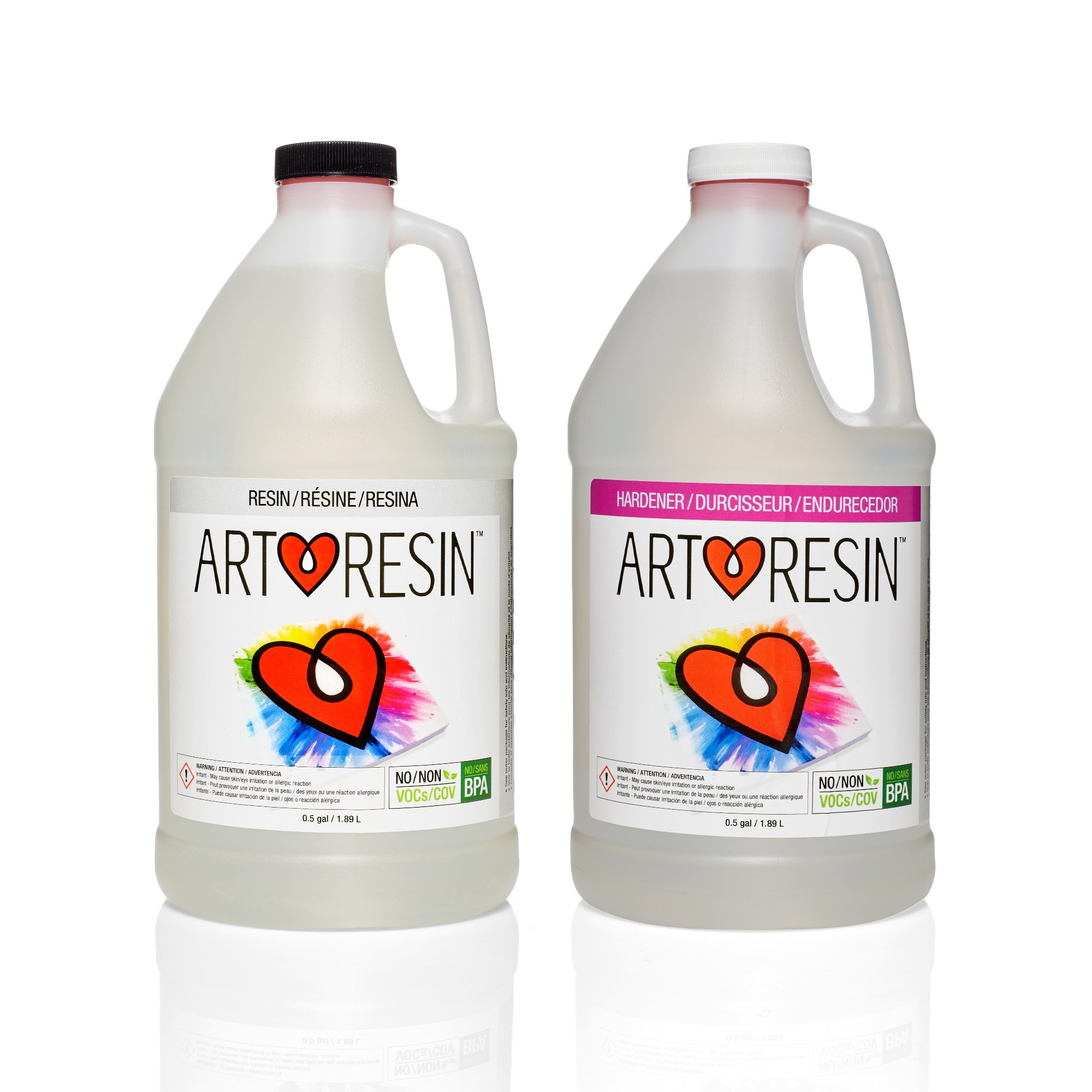 ArtResin - Epoxy Resin - Clear - Non-Toxic - 1 gal (3.78 L) by ArtResin