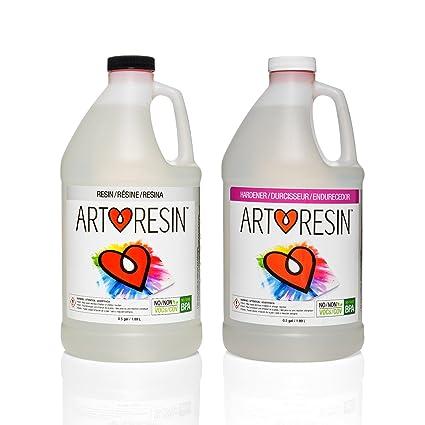 ArtResin - Epoxy Resin - Clear - Non-Toxic - 1 gal (3 78 L)