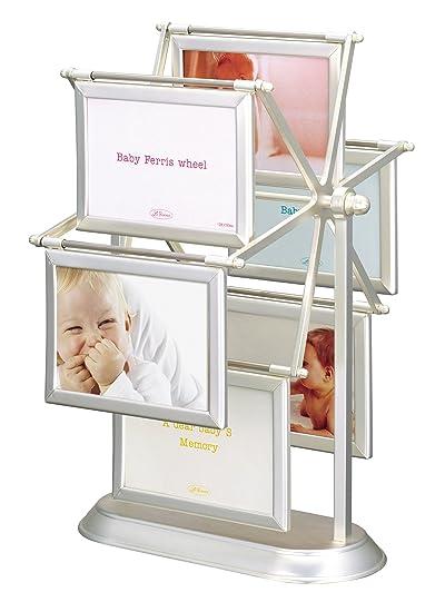 Amazon.com : Ferris Wheel Silver Frame for Baby : Baby Keepsake ...