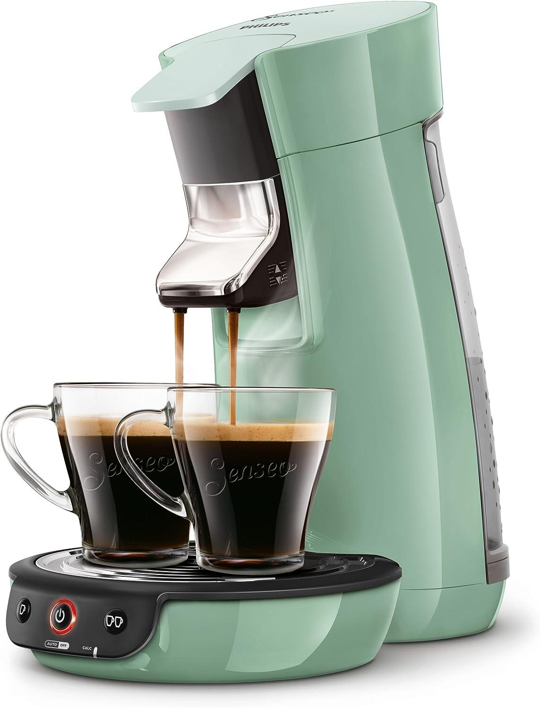 Senseo Viva Café HD7829/10 - Cafetera (Independiente, Máquina de café en cápsulas, 0,9 L, Dosis de café, 1450 W, Verde): Amazon.es: Hogar