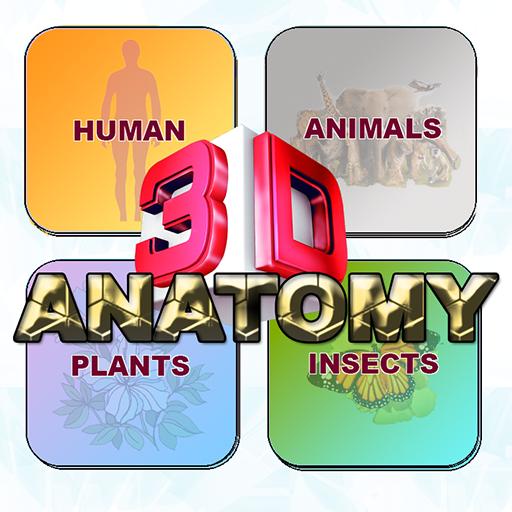 Anatomy 3D Pro++ - Human Anatomy, Physiology, Animal, Plant, Insect Anatomy ()