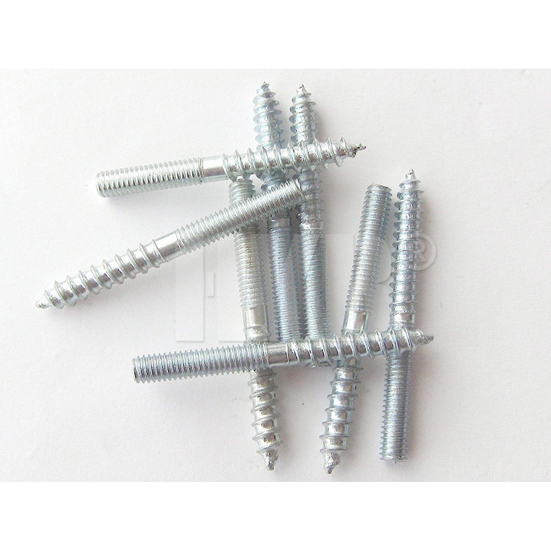 Artikel-Nr Stahl verzinkt HKB /® 10 St/ück Stockschrauben M4 x 40mm 20550