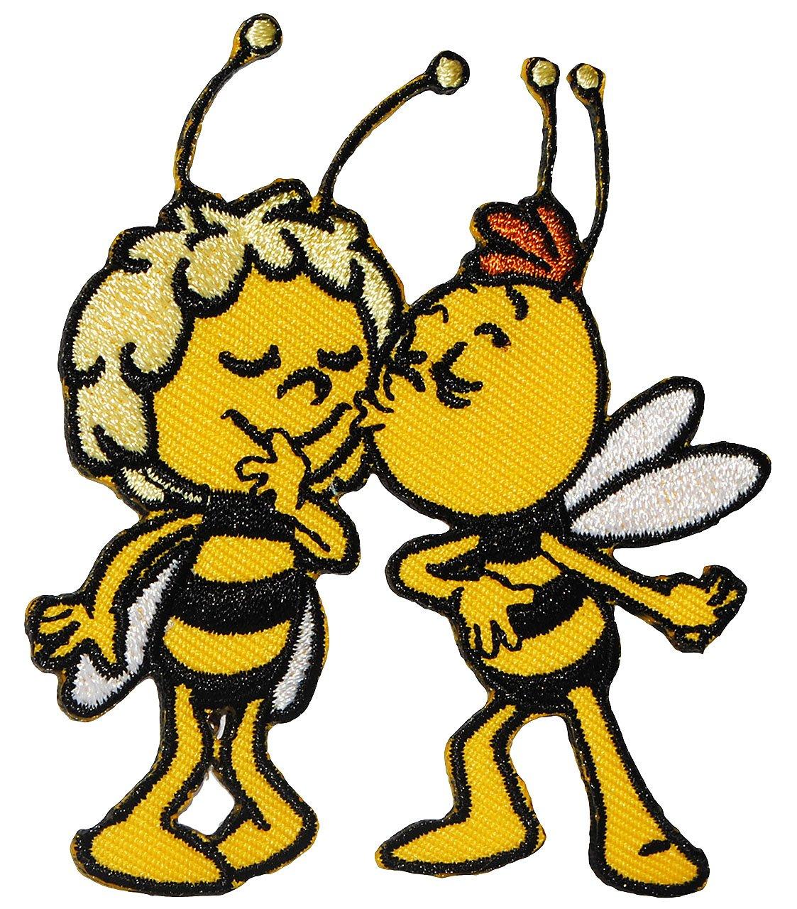 Aufbügelmotiv Biene Maja