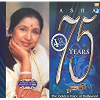 Asha 75 Years: The Golden Voice of Bollywood (Set of 4 CDs)