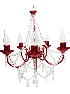 Buy (600mm)jhoomar ceiling light decorative chandelier with three ...