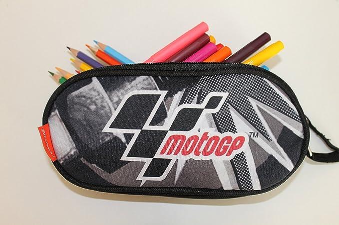 Motogp - Moto GP - Estuche doble compartimento, 50307: Amazon.es: Juguetes y juegos