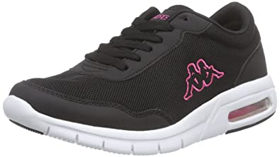 Chaussures Femmes, Couleur Noire, Taille 38 - Kappamelo Unisexe Chaussures, Maille / Synthétique