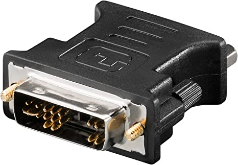VGA15-Buchse an DVI-A12+5-Stecker analog S Adapter