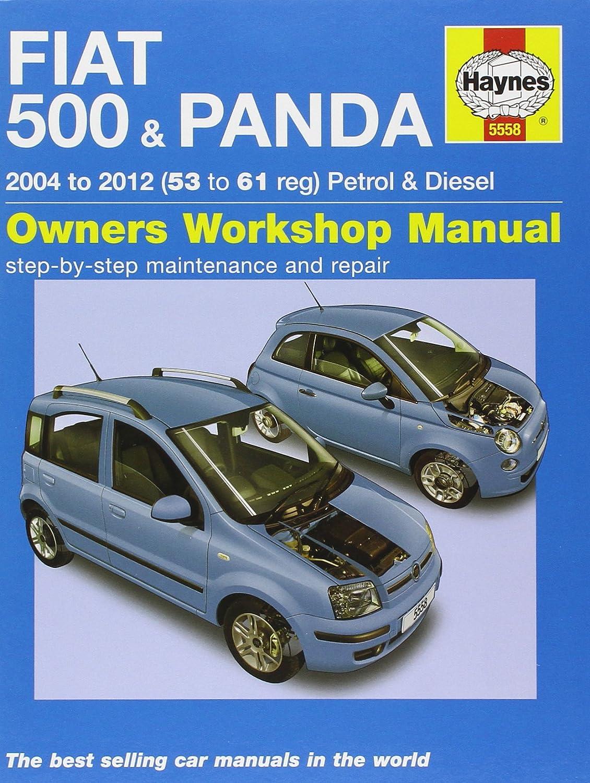 ... Array - fiat 500 u0026 panda petrol u0026 diesel service and repair  manual 2004 rh amazon