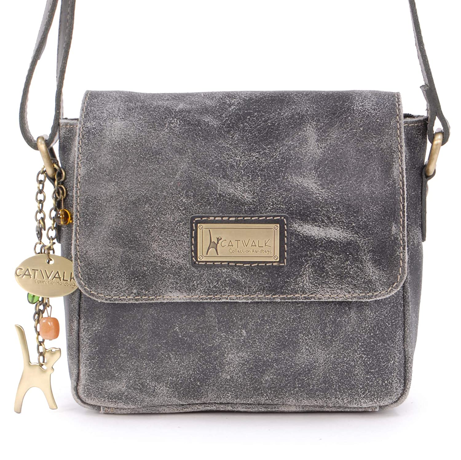NEW Free People Distressed Leather iPhone Wallet Crossbody Bag