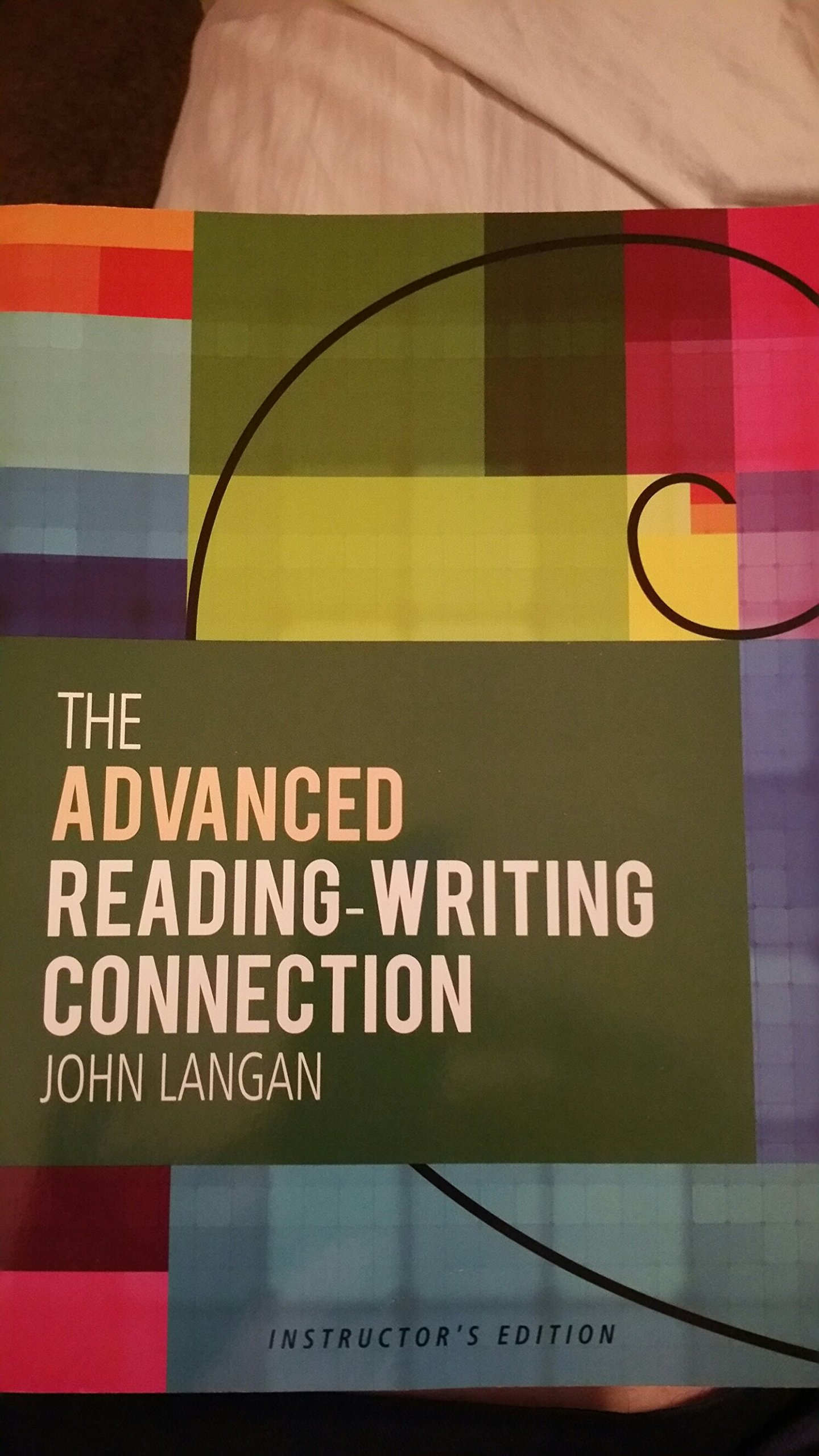 The Advanced Reading-writing Connection: John Langan: 9781591944263:  Amazon.com: Books