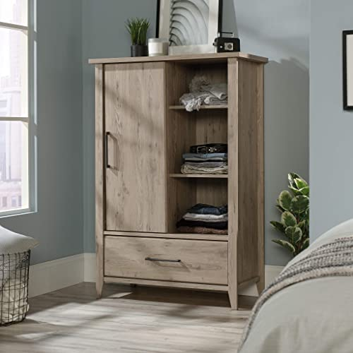 Sauder 425011 Summit Station Armoire, Laurel Oak
