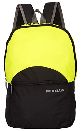 5f8f235f87ed Polo Class 19 Liters Green and Black Casual Backpack (PC-180-BP-02 ...