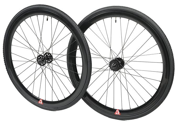 Review Retrospec Bicycles Mantra Fixed-Gear/Single-Speed Wheelset with 700 x 25C Kenda Kwest Tires and Sealed Hubs