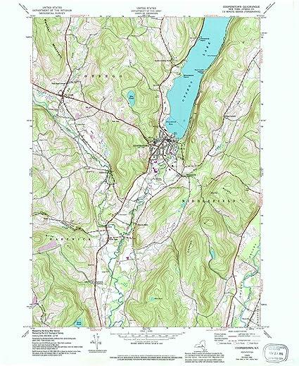Amazon.com : YellowMaps Cooperstown NY topo map, 1:24000 ... on cherry valley ny map, central square ny map, orange county ny map, schuyler lake ny map, cortland ny map, gallupville ny map, washington ny map, cooperstown new york, upper saranac lake ny map, cooperstown google maps, thousand islands ny map, stanton ny map, st johnsville ny map, town of corning ny map, ft totten ny map, cooperstown winter carnival 2014, coeymans ny map, canadarago lake ny map, lake placid ny on map, alder creek ny map,