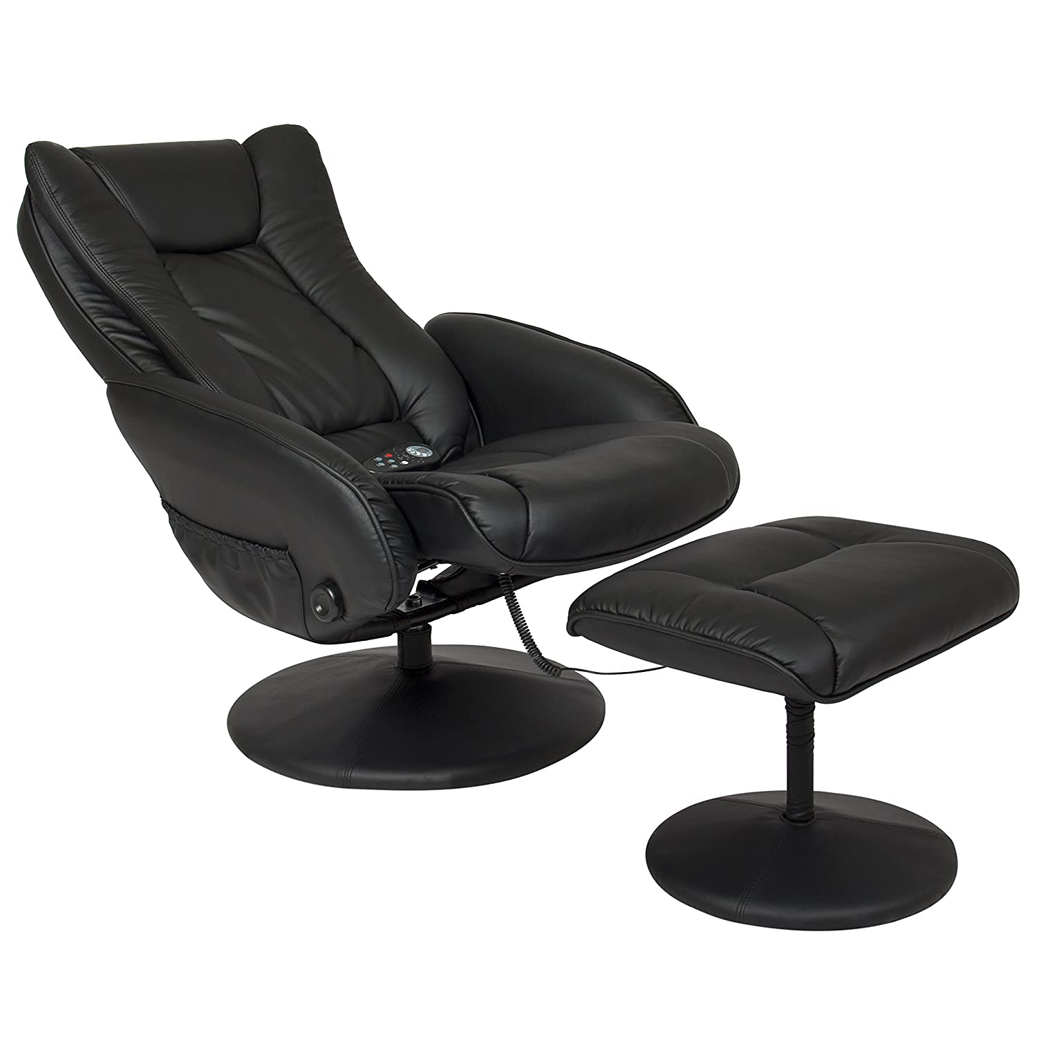 Amazon.com Best Choice Products PU Leather Massage Recliner Ottoman w/ Control 5 Heat u0026 Massage Modes 45lbs (Black) Home u0026 Kitchen  sc 1 st  Amazon.com & Amazon.com: Best Choice Products PU Leather Massage Recliner ... islam-shia.org