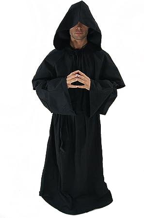 Disfraz: Monje, hábito de monje, verdugo, Muerte, Monk Sunn talla ...