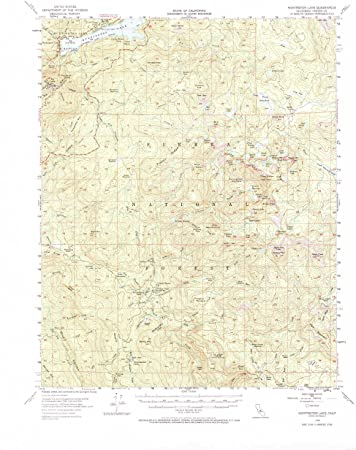 Amazon Com Yellowmaps Huntington Lake Ca Topo Map 1 62500 Scale 15 X 15 Minute Historical 1953 Updated 1968 21 8 X 17 3 In Paper Sports Outdoors