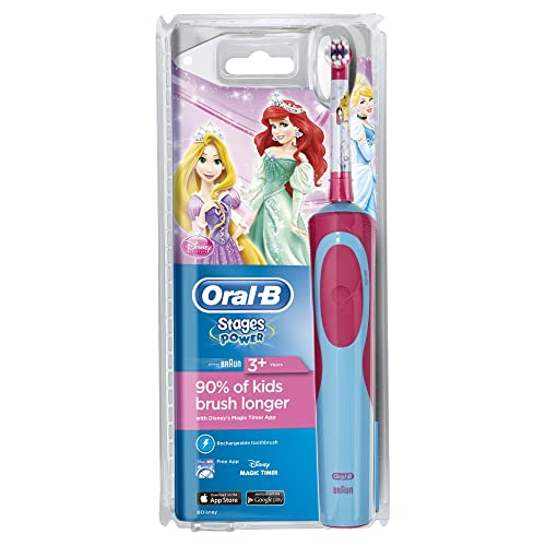 Oral-B Stages Power Kids Electric Toothbrush, Disney Princesses