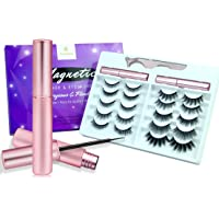 Amazon Price History for:Updated 3D 6D Magnetic Eyelashes with Eyeliner Kit- 2 Tubes of Magnetic Eyeliner & 10 Pairs Magnetic Eyelashes Kit-With…