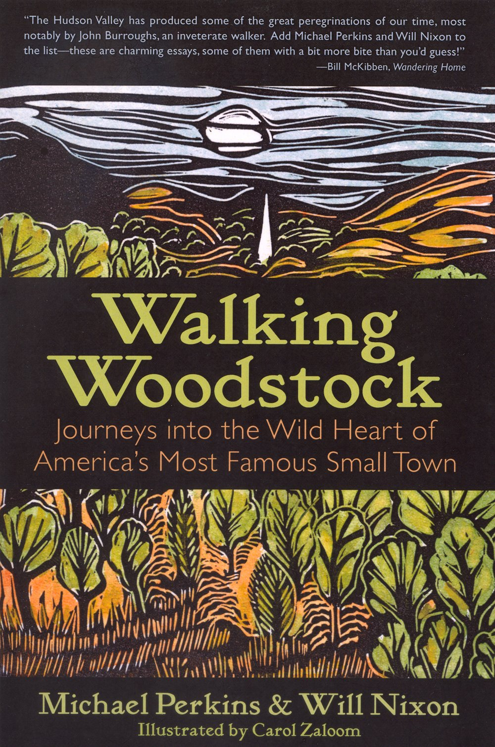 walking woodstock journeys into the wild heart of america s most walking woodstock journeys into the wild heart of america s most famous small town michael perkins will nixon carol zaloom 9781935534396 amazon com
