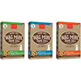 Cloud Star Wag More Bark Less Grain Free Itty Bitty Baked 3 Flavor Variety Dog Treats Bundle: (1) Smooth Aged Cheddar, (1) Peanut Butter & Apples, and (1) Chicken & Sweet Potatoes Flavor, 7 Ounces Each (3 Boxes Total)