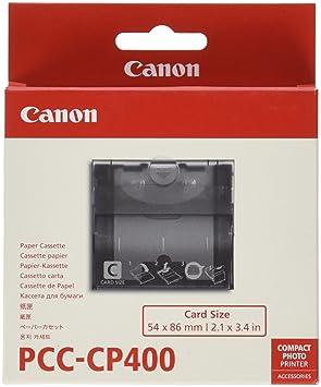 Canon PCC-CP400 - Kit para impresoras (Negro, Canon: SELPHY ...