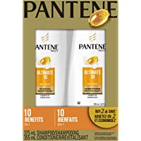 Pantene Pro-V Ultimate 10 Shampoo and Conditioner Dual Pack, 730 mL