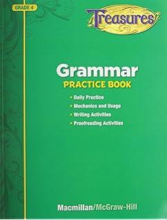 Amazon harcourt horizons texas student edition grade 4 treasures grammar practice book grade 4 fandeluxe Gallery