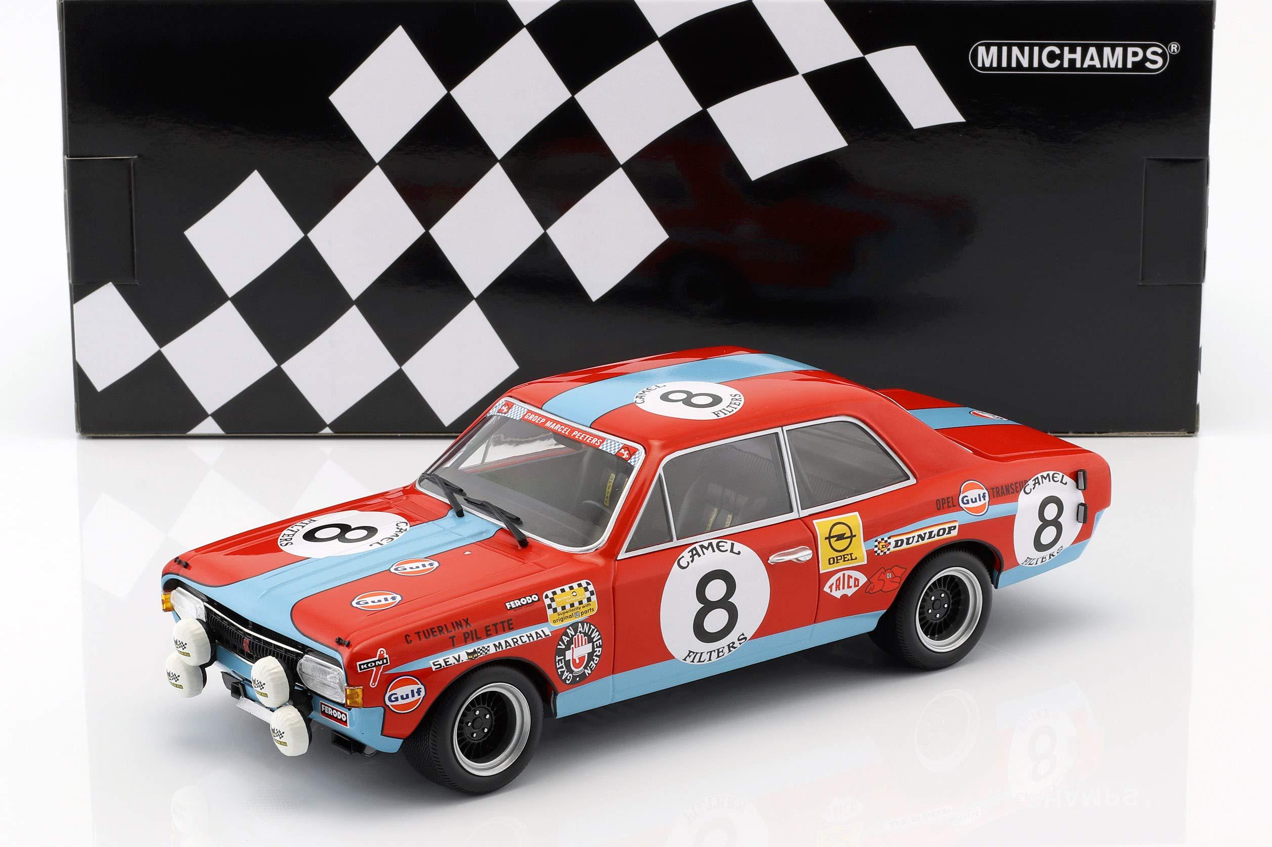 Minichamps 155724608 Collectible Miniature Car - Red/Blue