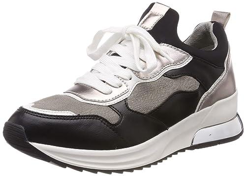 Schuhe Tamaris Schuhe Turnschuhe Sneaker Schwarz Sneaker