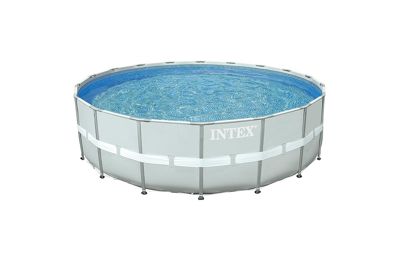 Intex Set Completo Piscina, 549 cm x 549 cm x 132 xm, 26.42 litros ...