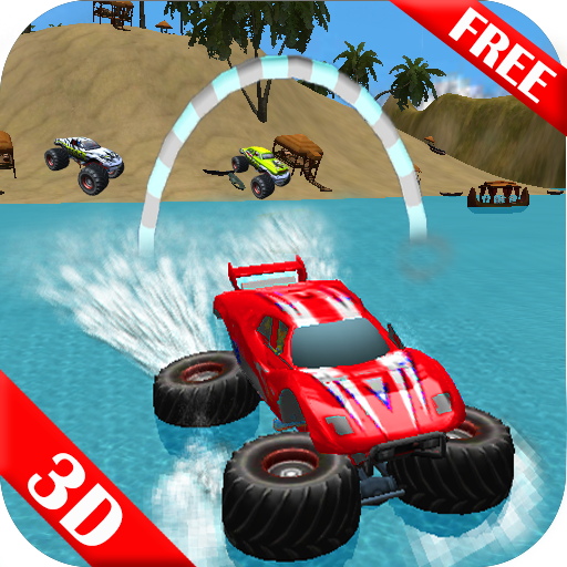 Beach Driving Buggy Surfer Sim (Diesel Santa)