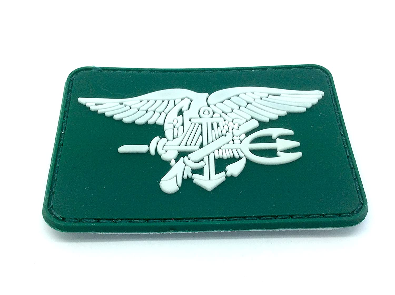 Patch Nation Toppa US Navy Seal Special Ops Eagle Verde PVC Da Airsoft