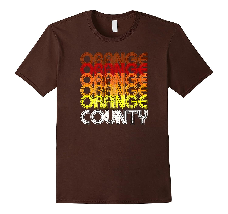 Orange County California T-Shirt Warm colors