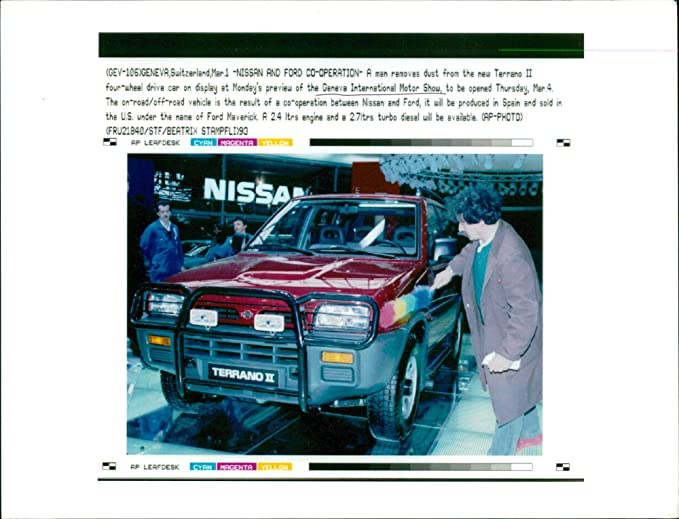 674aed5ee33 Amazon.com: Vintage photo of Nissan terrano II: Entertainment ...