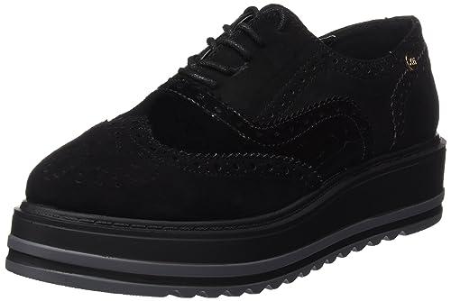 c3033d67960 XTI 047331, Zapatos de Cordones Oxford para Mujer, Negro (Black), 41 EU:  Amazon.es: Zapatos y complementos