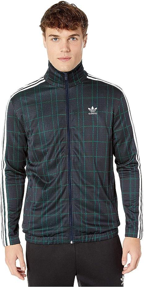 stile classico del 2019 come acquistare gamma completa di specifiche adidas Originals Tartan Track Jacket at Amazon Men's Clothing store