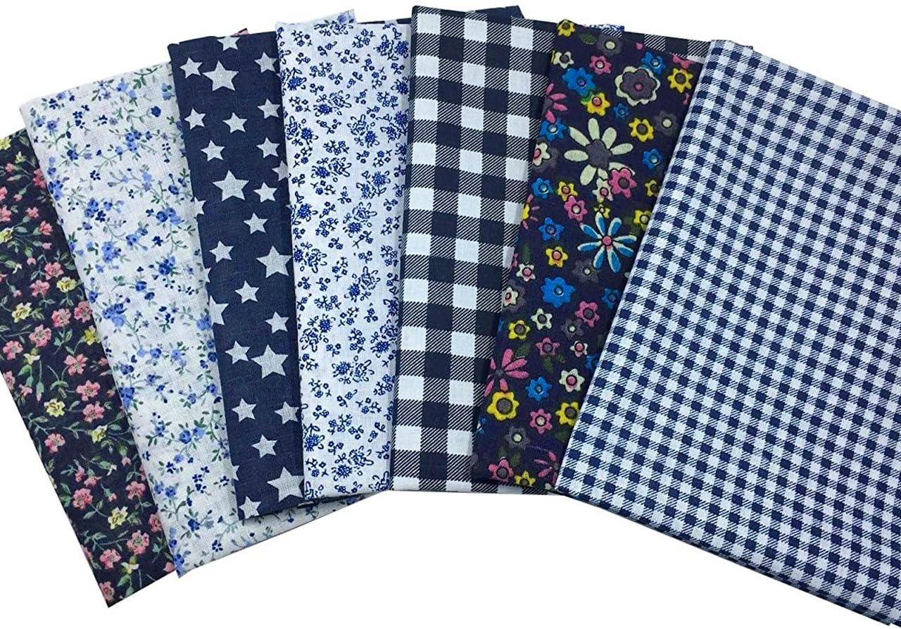 Quilt Fabric scrap piece quilting fabric 18 x 20 FQ  purple black tones