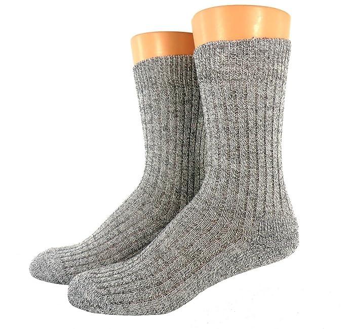 Pack de 3 calcetines de lana de oveja Noruego Heather Grey