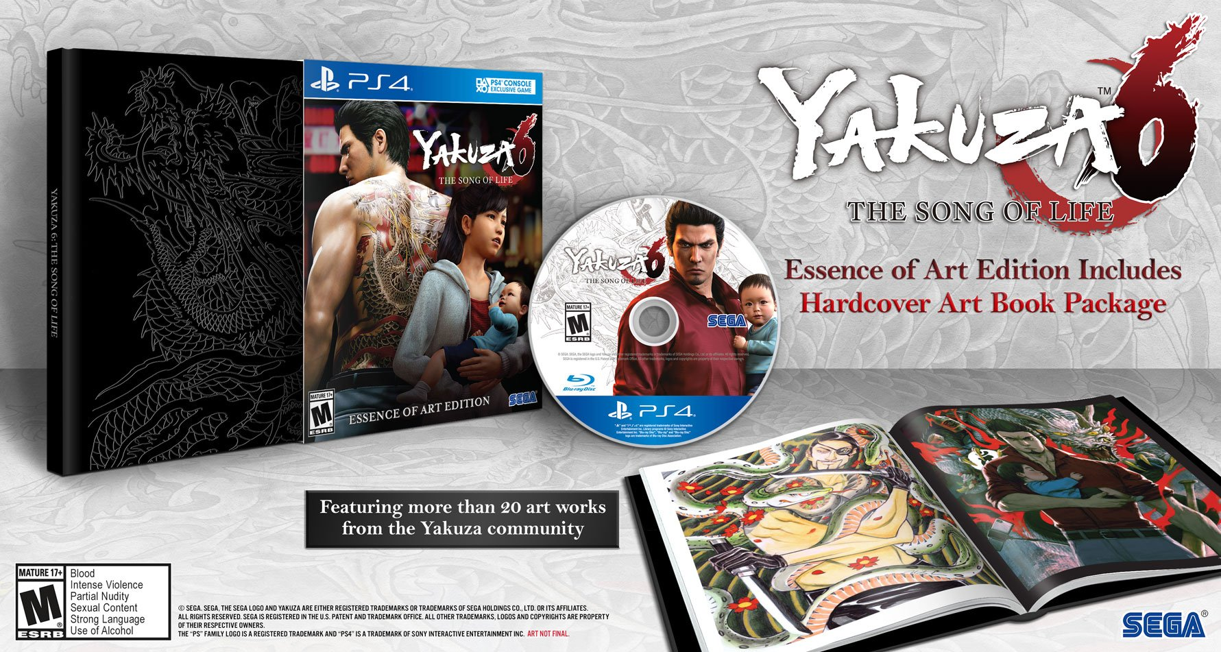 Yakuza 6: The Song Of Life - Essence Of Art Edition -...