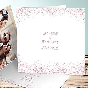 Hochzeitseinladung Selber Gestalten Fruhlingswiese 10 Karten