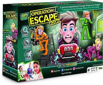 Oferta amazon: Diset - Operation Escape Room, Juego de mesa infantil a partir de 6 años