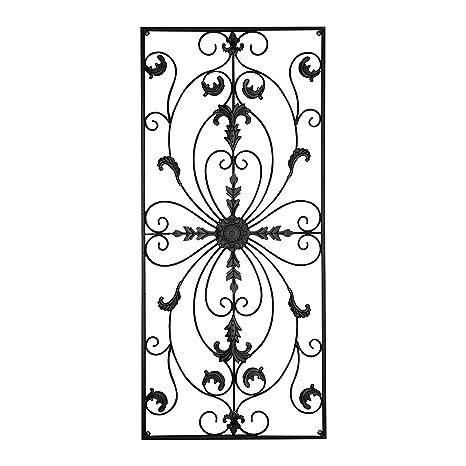Amazon.com: gbHome GH-6778 Metal Wall Decor, Decorative Victorian ...