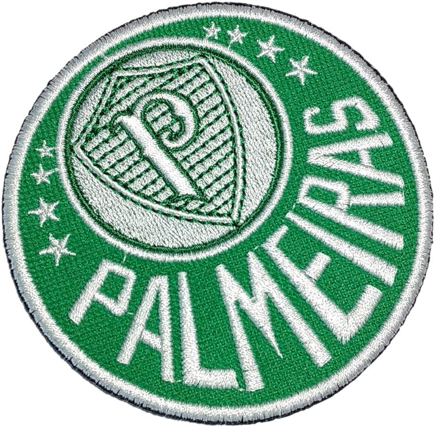 tsp082 Palmeiras SP Brasil escudo fútbol parche bordado hierro o coser