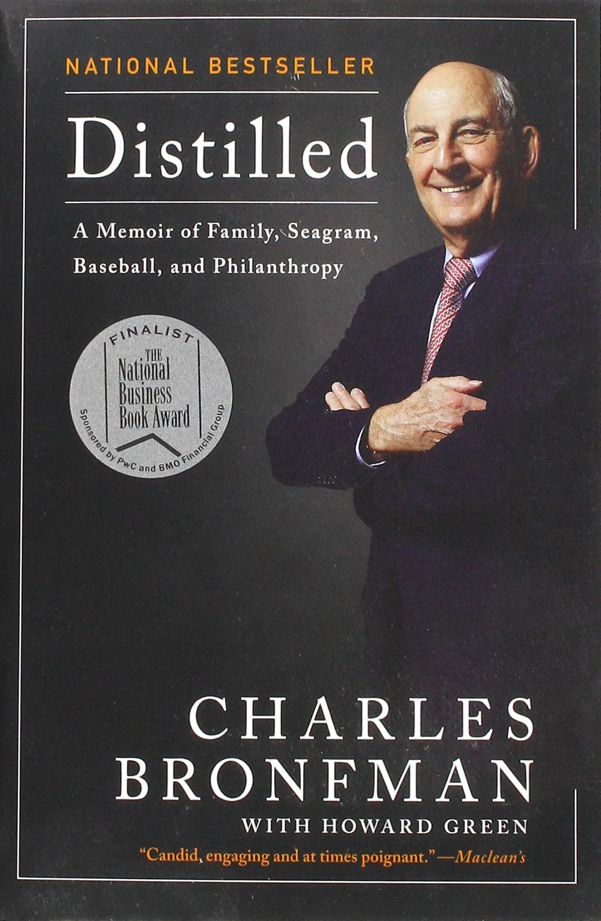 Buy Distilled: A Memoir of Family, Seagram, Baseball, and