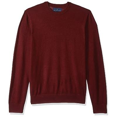 Brand - BUTTONED DOWN Men's Italian Merino Wool Lightweight Cashwool Crewneck Sweater: Clothing